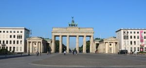 Surrounding setting of the Brandenburg Gate