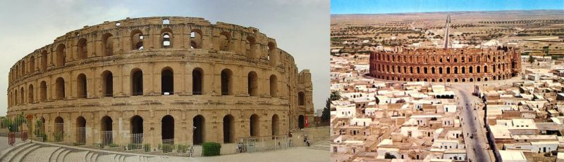 Feedback photo for controlled remote viewing session 070409268. Target was El Jem, Tunisia coliseum/amphitheater