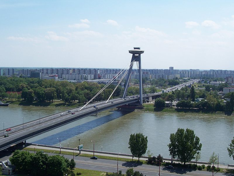 Novy Most Bridge, Bratislava, Slovakia