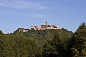 Wartburg Castle from a distance