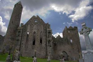 Rock of Cashel close up