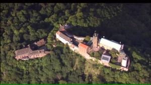 Wartburg Castle from above