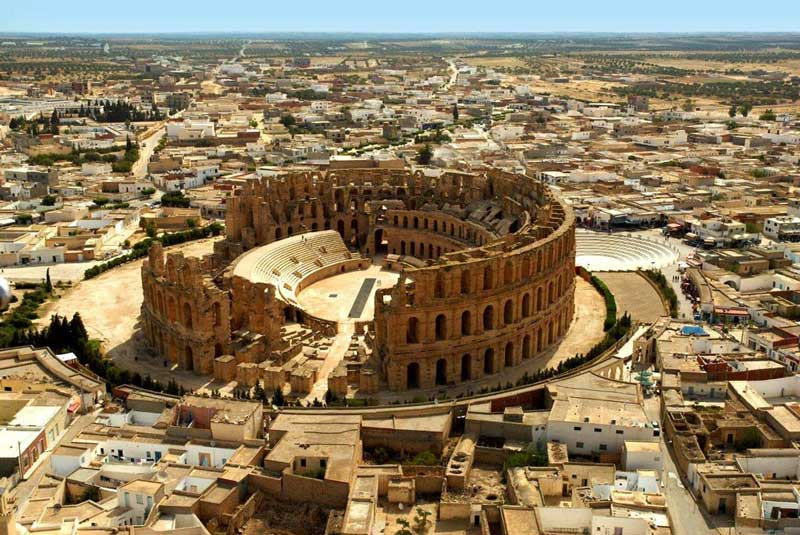 Target 303 is the El Jem Amphitheatre,Tunisia
