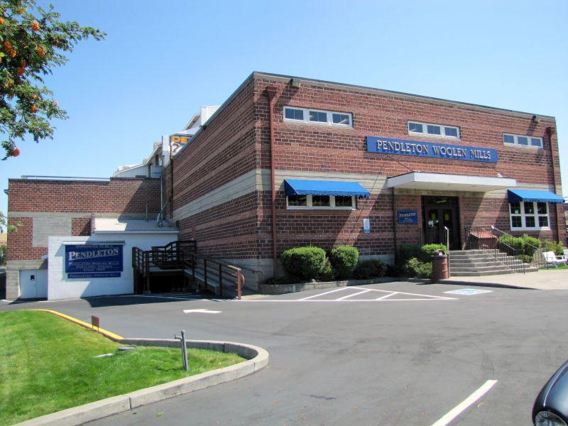 Target 244 is the Pendleton Woolen Mills, in Pendleton, Oregon