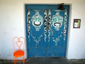 Entrance to the Amargosa Opera House