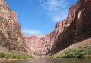 Marble Canyon, AZ from river level