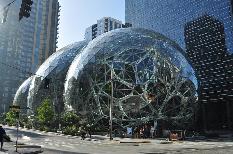 Target 649 is the Amazon Spheres in Seattle Washington