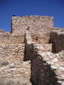 Target 776 is Tuzigoot Native American ruins in Arizona