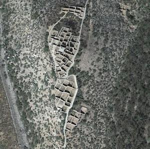 Google Earth view of Tuzigoot