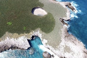 Aerial view of Target 201201760--Love Beach is in the upper section of the photo