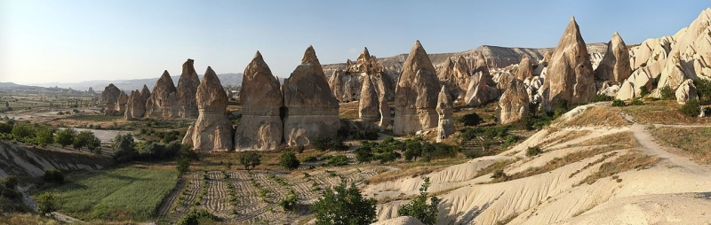 """Remote viewing target 210216768 is """"fairy chimneys"""" in Cappodocia Turkey"""