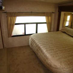 Fifth Wheel With Front Living Room White Set 5th Camper   Rving Is Easy At Lerch Rv