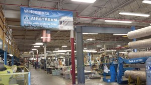 Airstream Factory Tour