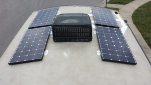 RV Solar for travel trailers, fifth wheels and motorhomes.