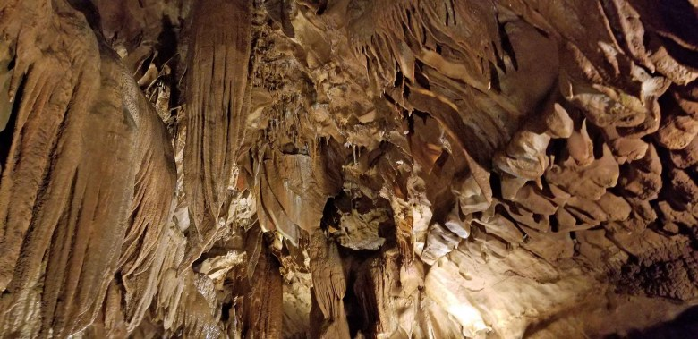 Diamond Caverns in south-central Kentucky.