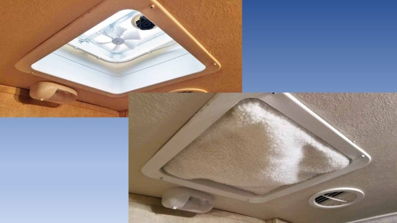 RV vent cushion
