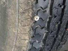 A screw in my RV tire.