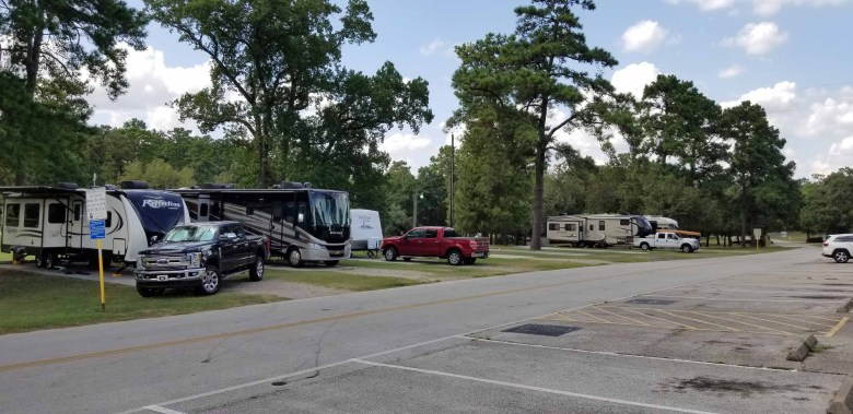 free camping in houston texas