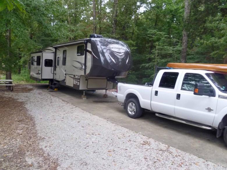 North Graysport Campground, Grenada Lake, Mississippi