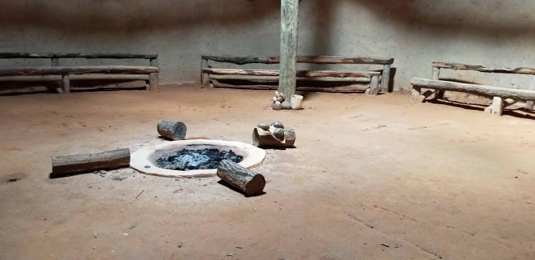 Cherokee Indian village community center