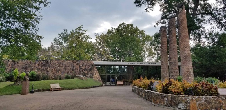 Museum and living history of the Cherokee Native Americans