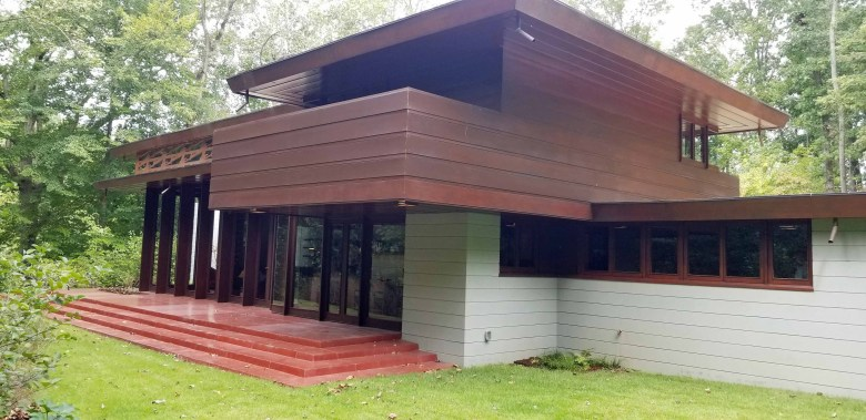 Frank Lloyd Wright designed house from 1956