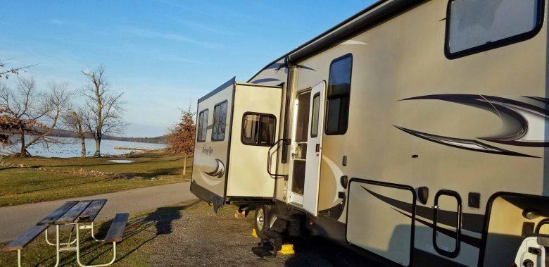 The Lake Guntersville State Park campground
