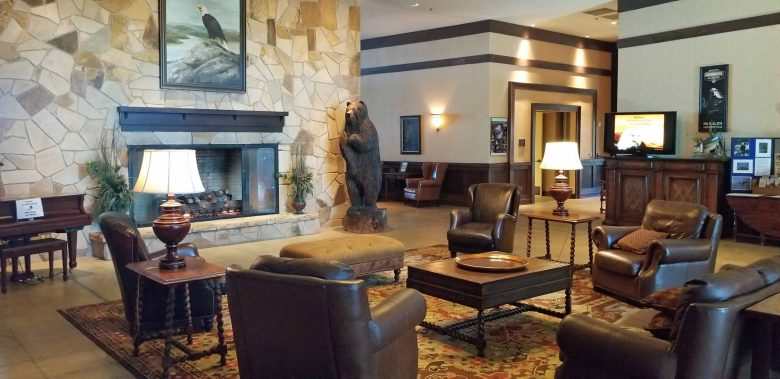 Lake Guntersville State Park Lodge interior