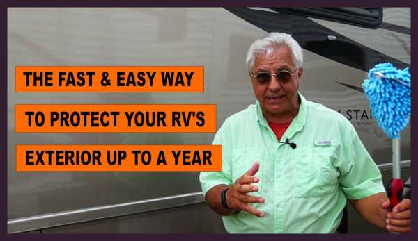 "Video - ""RV Paint Protection That Is Fast And Easy"""