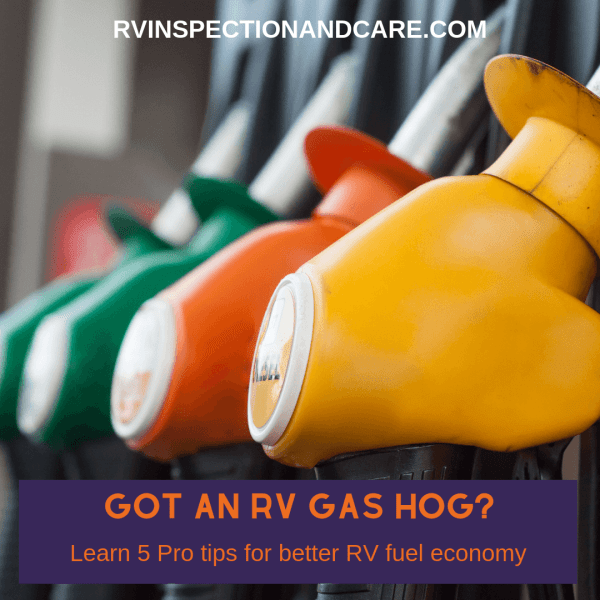 5 tips to help improve your RV gas mileage right away.