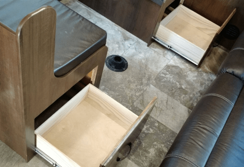 booth drawers