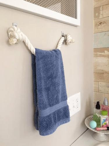 rope towel holder