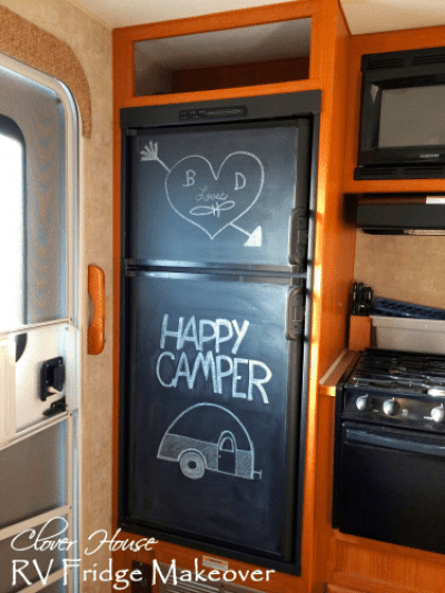 7 Rv Refrigerator Makeover Ideas Rv Inspiration