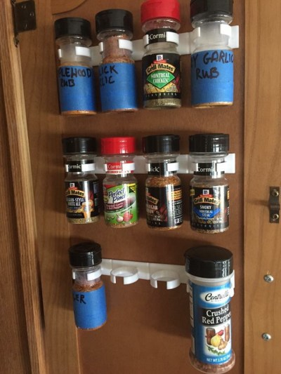 9 Wall Storage Ideas That You Need To Try: 9 Space-Saving Spice Storage Ideas