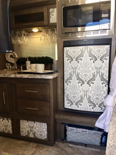 7 Rv Refrigerator Makeover Ideas Rv Inspiration