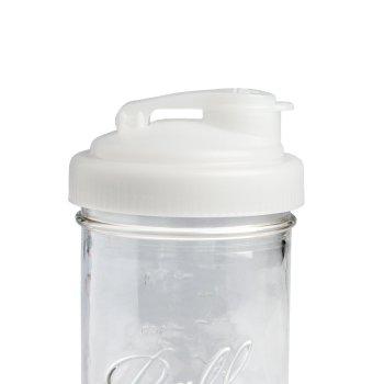 Mason jar pour lid