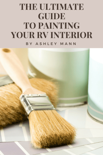 Guide To Painting Your Rv Interior How To Paint Rv Walls Cabinets