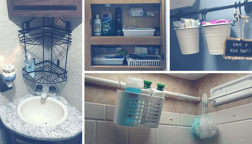 Diy How To Add Removable Walls To Shower Shelves Rv Inspiration