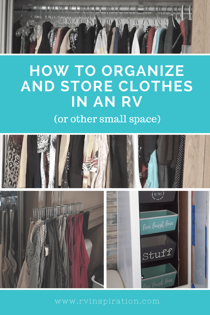 Clothing #storage And Closet #organization Ideas For Your #camper,  #motorhomes,