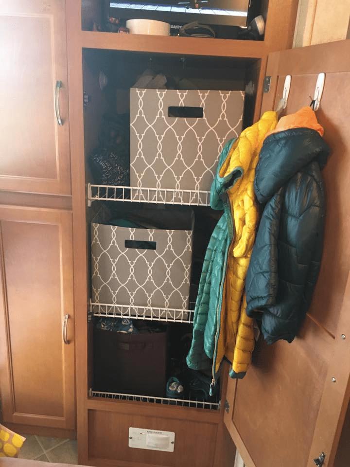 15 Clothes Storage Amp Closet Organization Ideas Rv