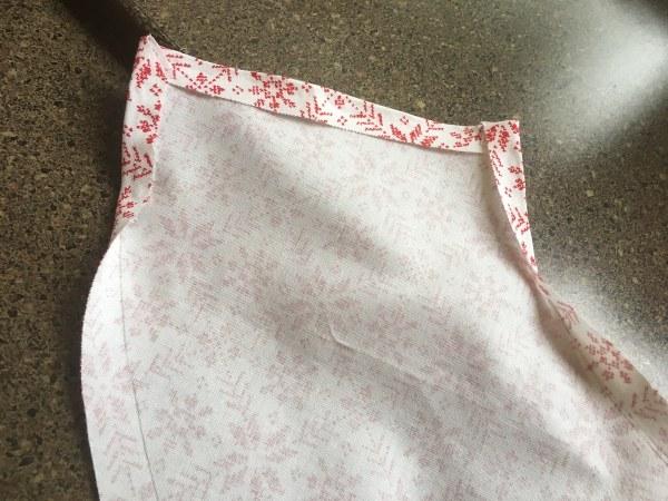 No-sew hemming using hot glue