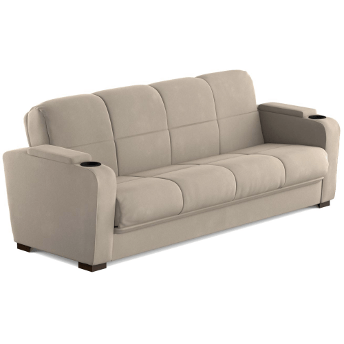 Futon with storage - Best RV furniture - sofas or couches for motorhomes, campers, and travel trailers