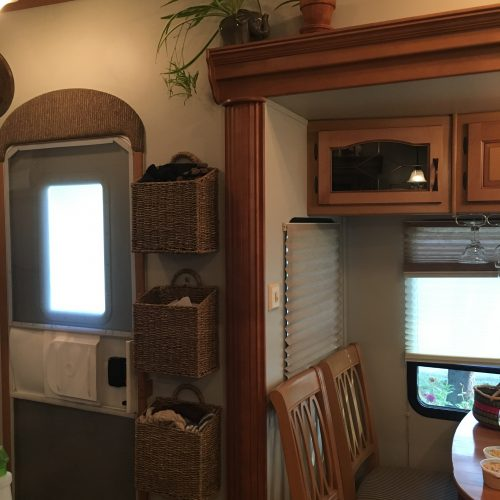 9 Wall Storage Ideas That You Need To Try: RV Tour: Welcome To My RV! (Ashley Mann Of RV Inspiration