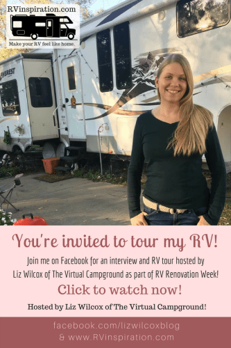 Video tour of my #fifthwheel #RV showing how I keep everything #organized