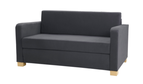 Sleeper sofa love seat - Best RV furniture - sofas or couches for motorhomes, campers, and travel trailers
