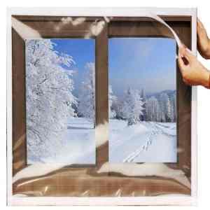 Vinyl window insulation kit