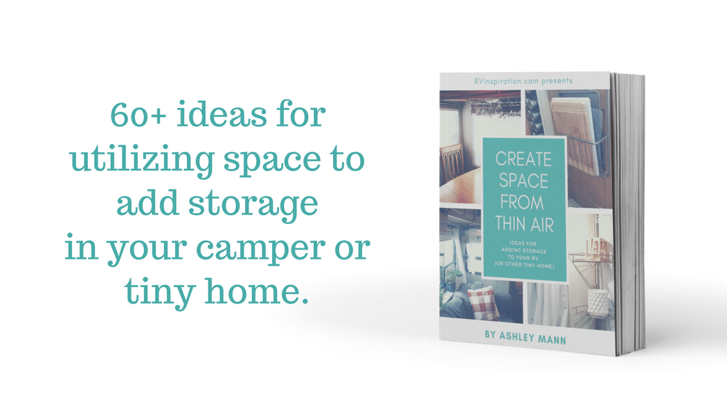 60+ ideas for adding storage to your camper, motorhome, or tiny home.