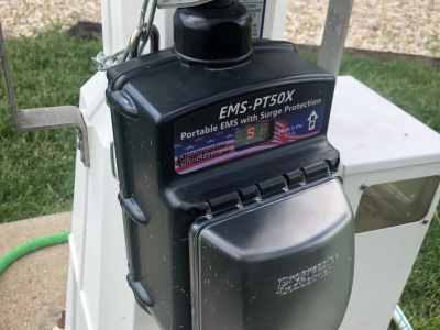 our RV EMS surge protector from Progressive Industries