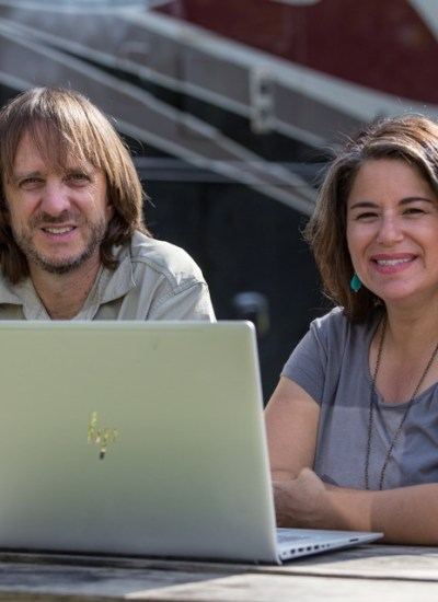 "Camille and her husband Bryce run the website MoreThanAWheelin.com.  They describe themselves as ""former workaholics, who traded in Corporate America for North America, to explore new places, people, and possibilities."""