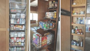 25 Storage Tips Ideas Hacks For Organizing Camper Kitchens Rv